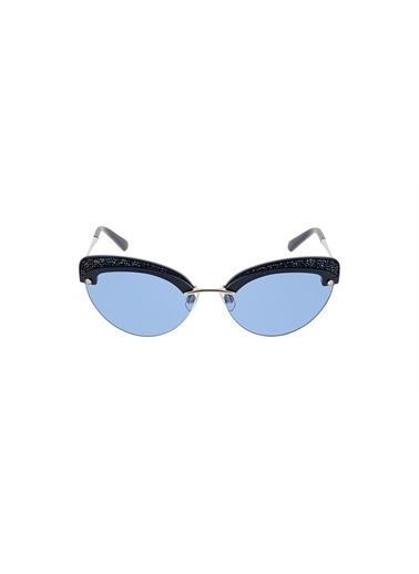 Swarovski Güneş Gözlüğü Mavi